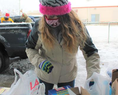 Canvas braves cold for homeless