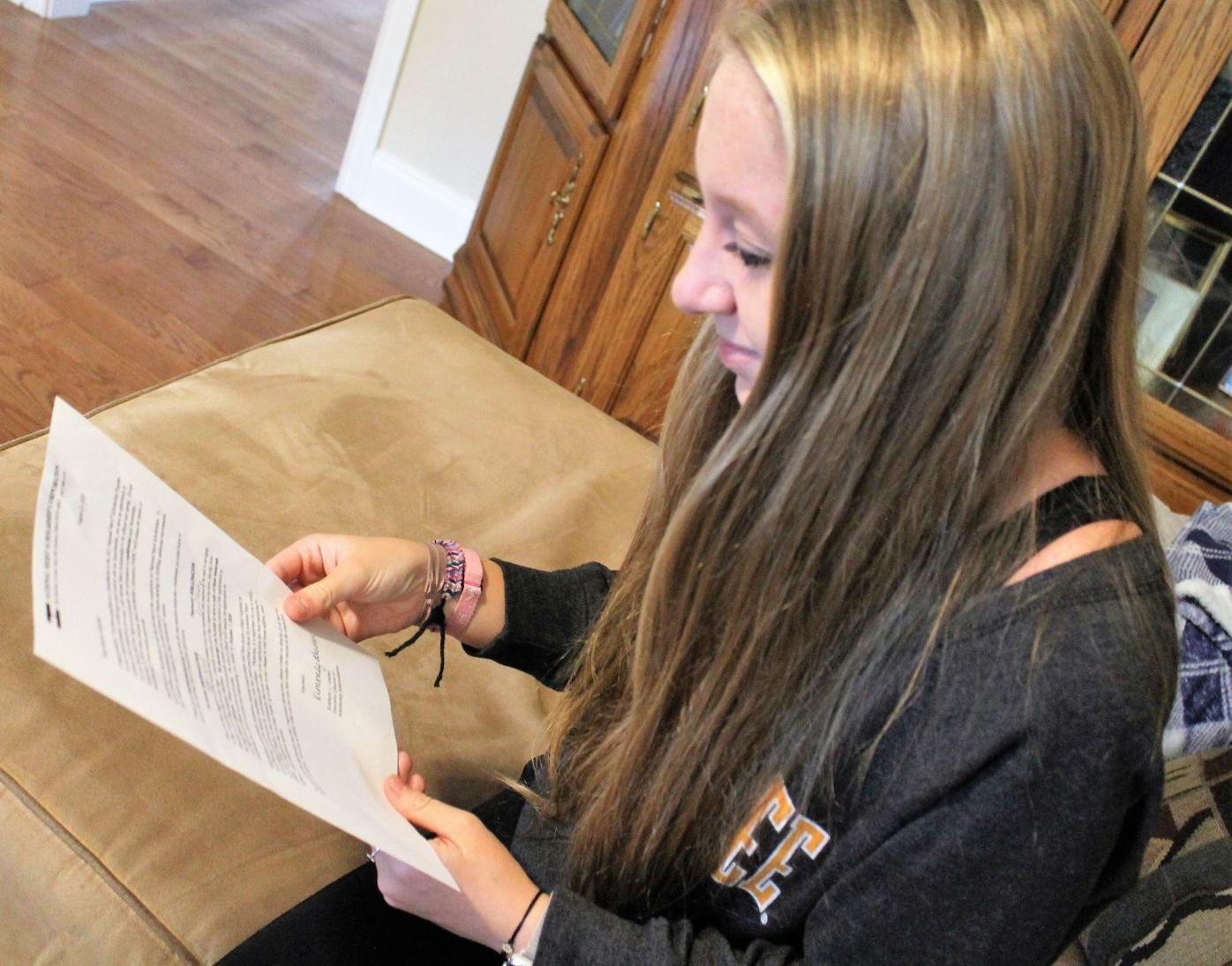 LCHS students recognized for test scores