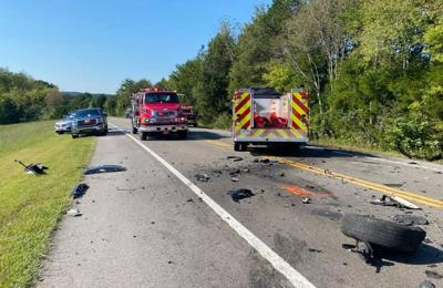 Head-on wreck leaves two in critical condition