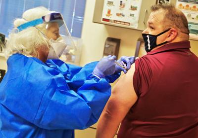 Coronavirus vaccine arrives locally