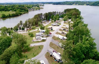 Business booming for local campgrounds