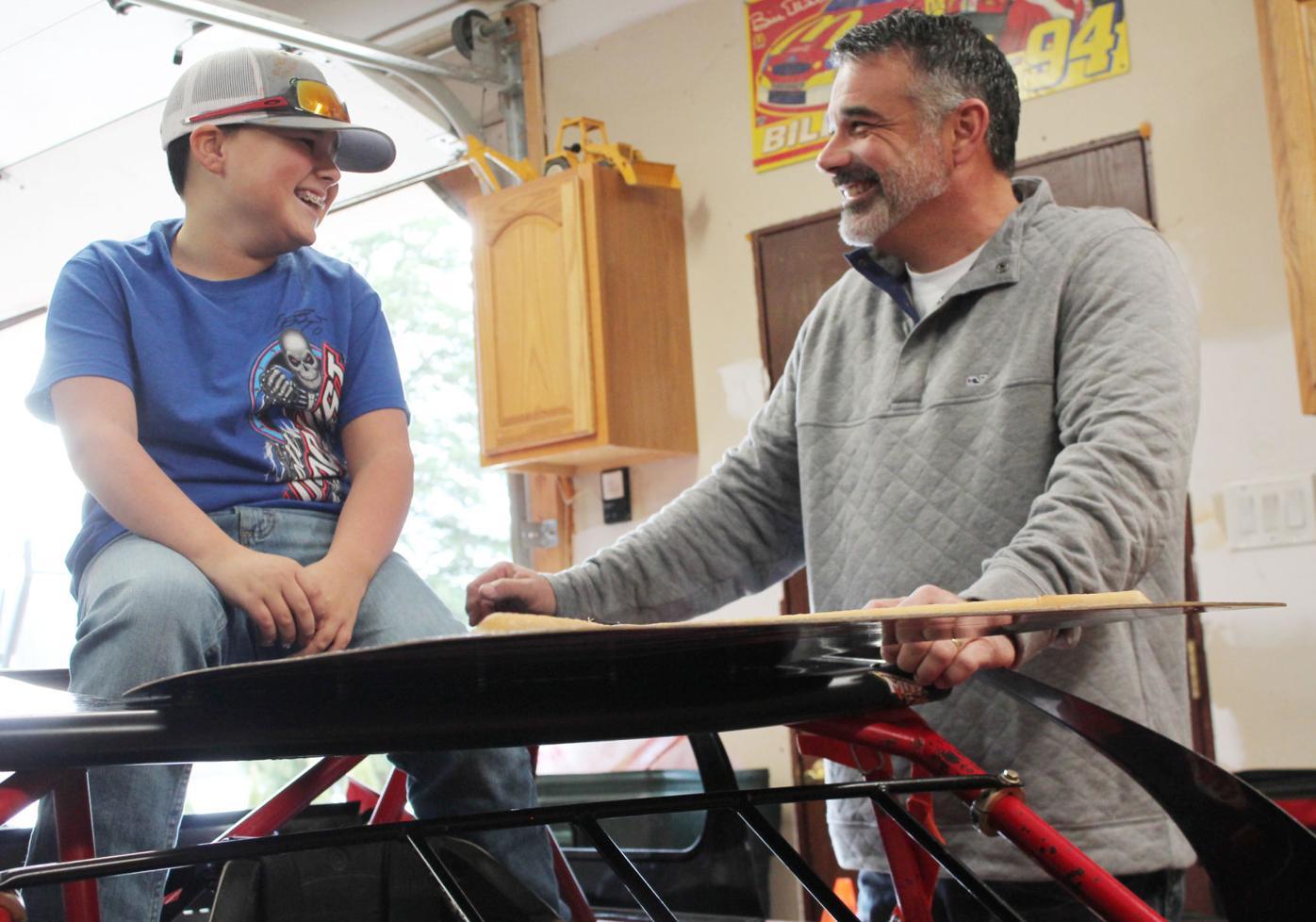 Aspiring young racer wins big