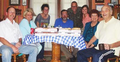 Celebrating my birthday was a family affair