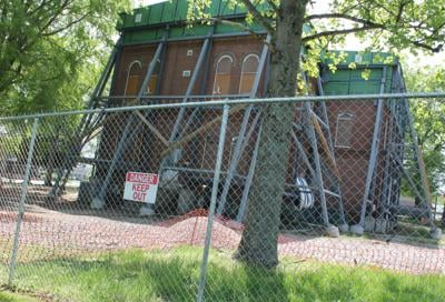 Courthouse restoration slow process