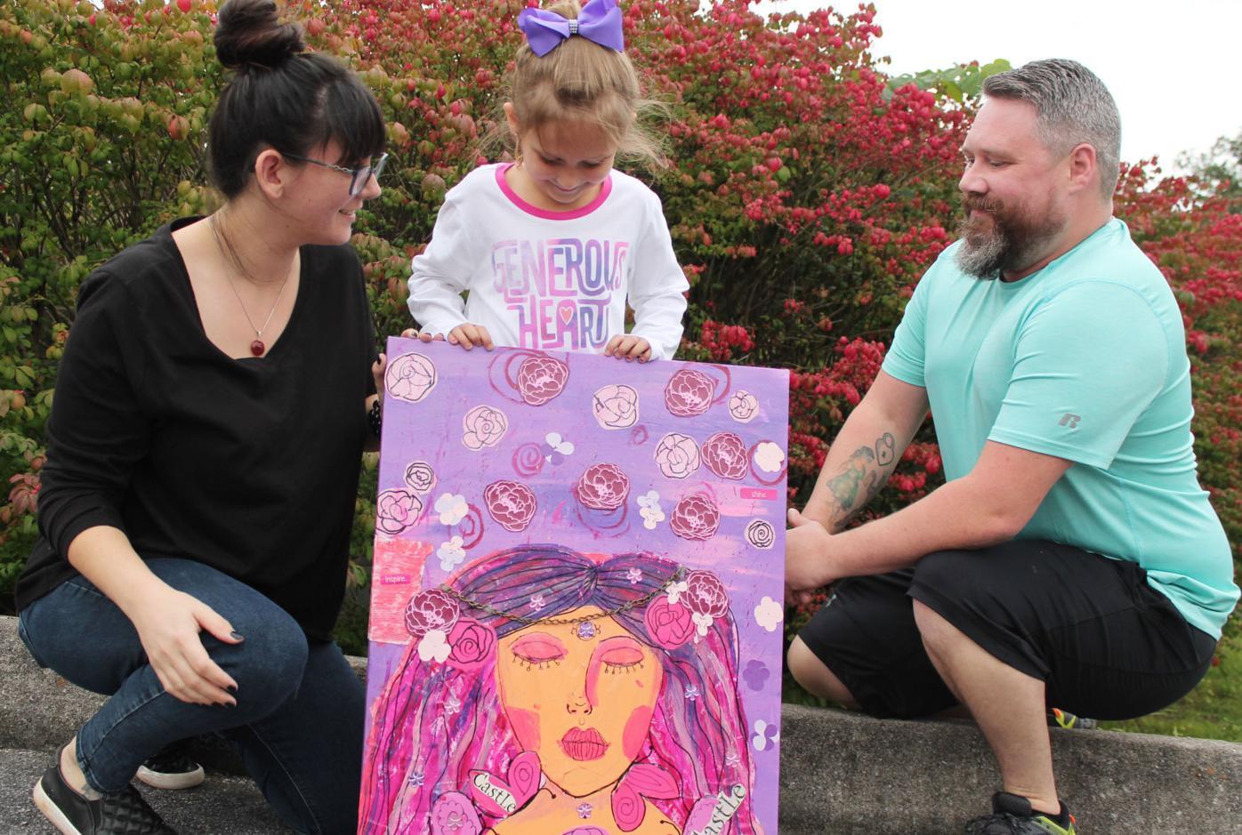 Jude Wiggins showcases artistic talent