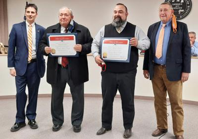 State honors Guider at county meeting