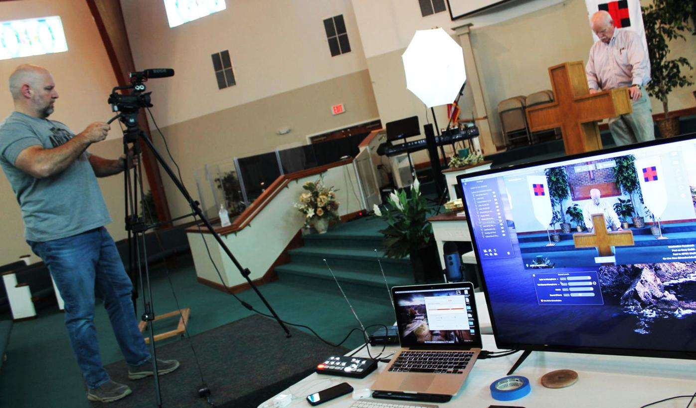 Numerous churches going virtual