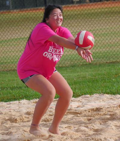 Loudon volleyball whipping into shape