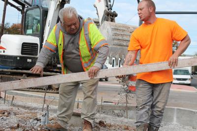 Streetscapes nears completion