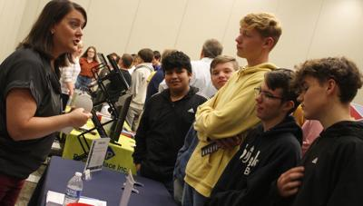 Students learn about job opportunities