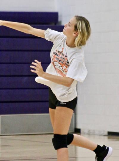 Greenback volleyball learning the ropes