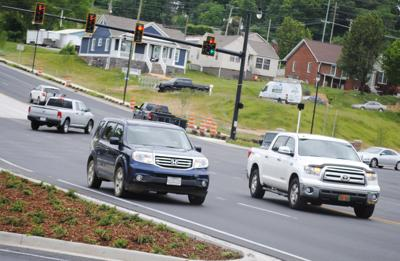 U.S. 321 intersection almost finished
