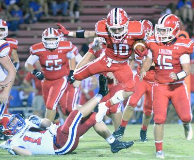 Loudon runs away for sixth win