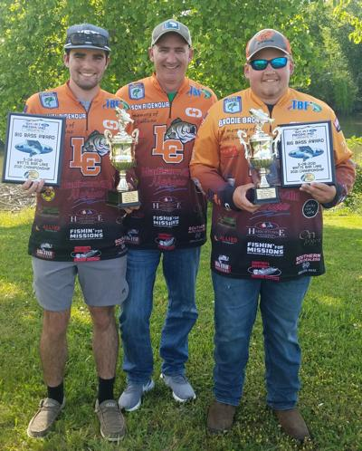 LCHS Bass Club duos place in top 10