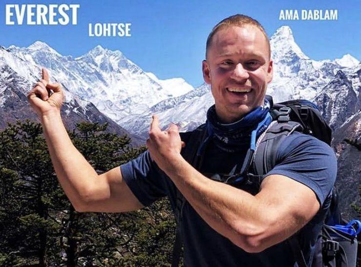 Villagers' son climbs Everest