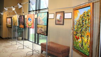 Community Church displays member artwork