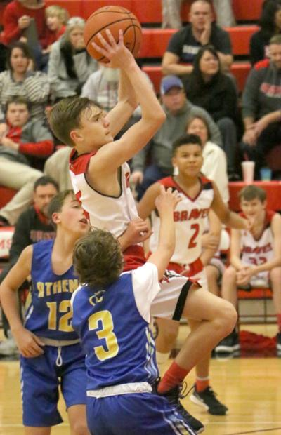 Braves survive Athens City in thriller