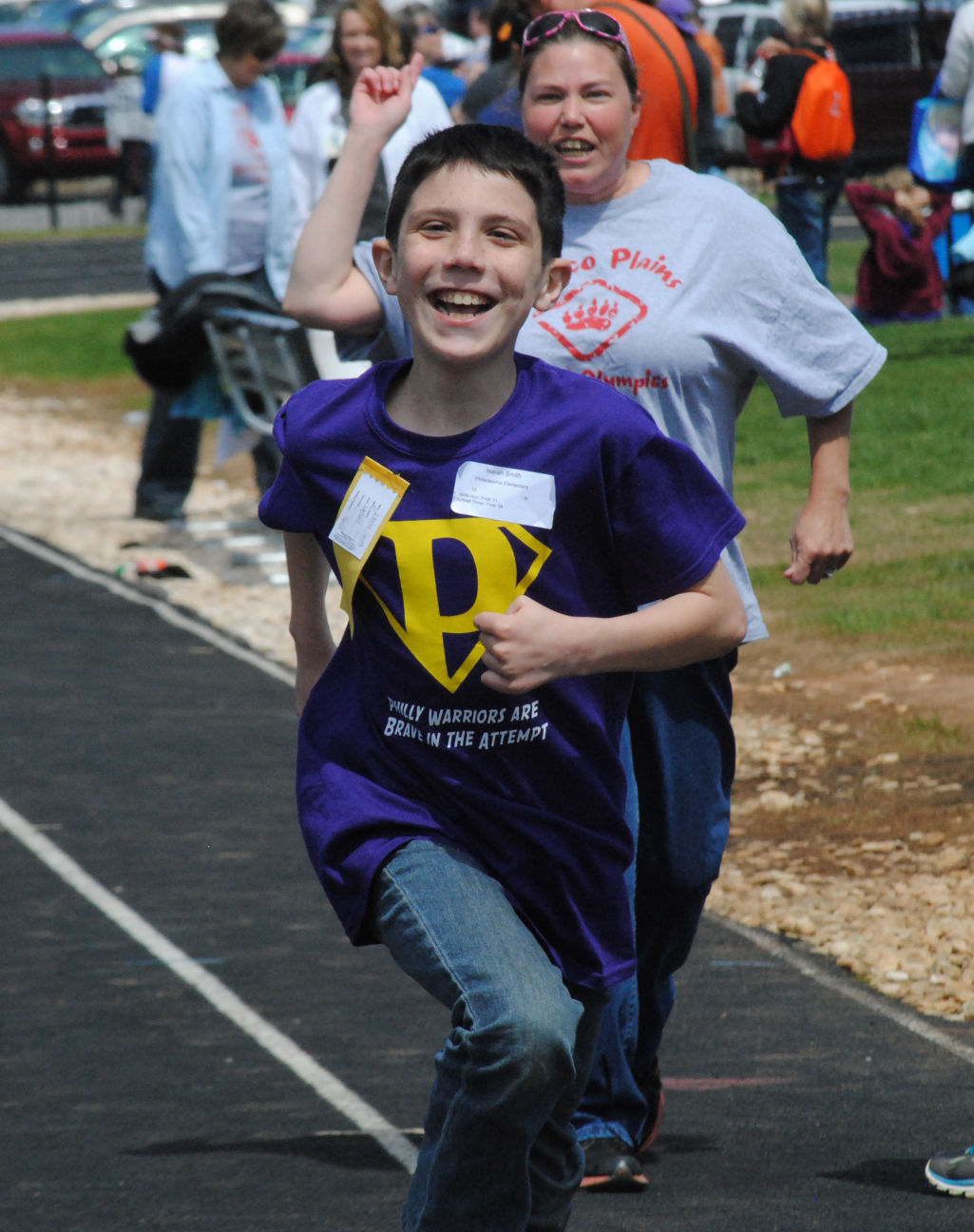 The joy of Special Olympics