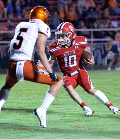 Loudon overwhelms Greenback at home