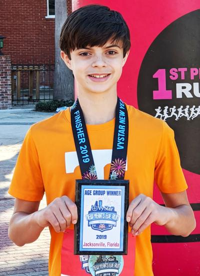 Lenoir City runner wins division medal