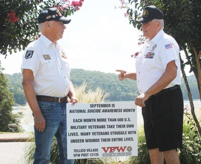VFW post hoping to prevent suicide