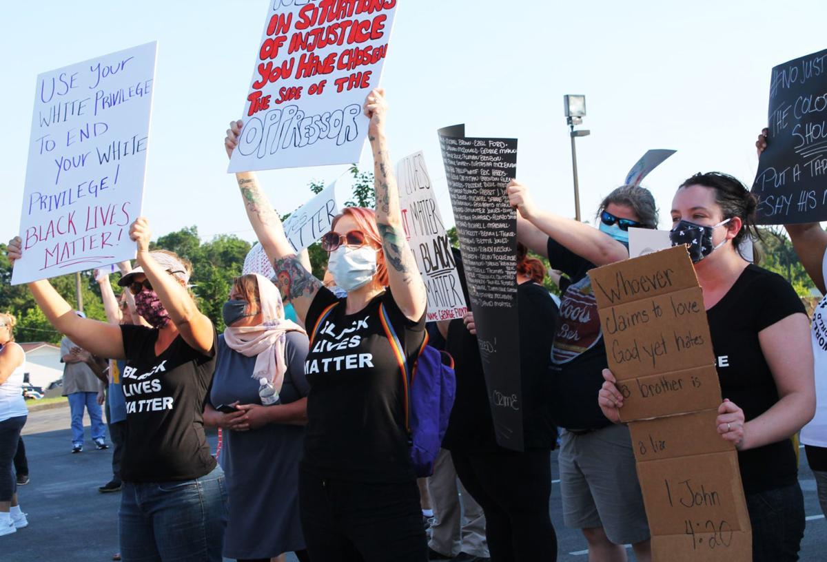 Lenoir City protest peaceful