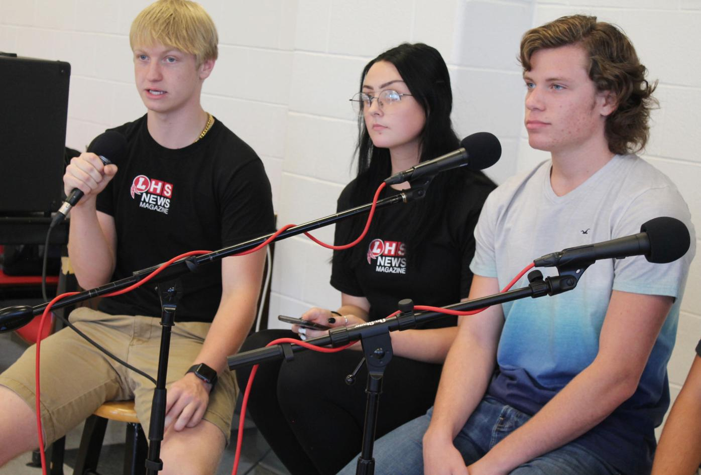 LHS students collaborate on music