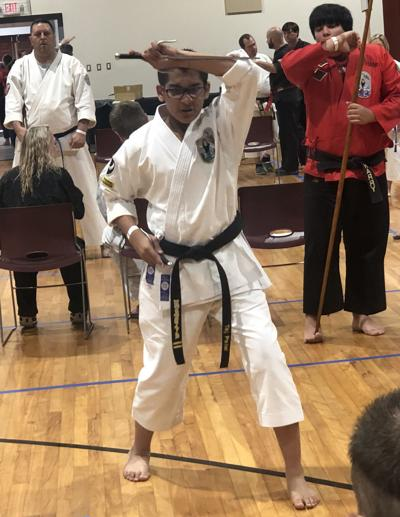 Karate athletes compete for gold