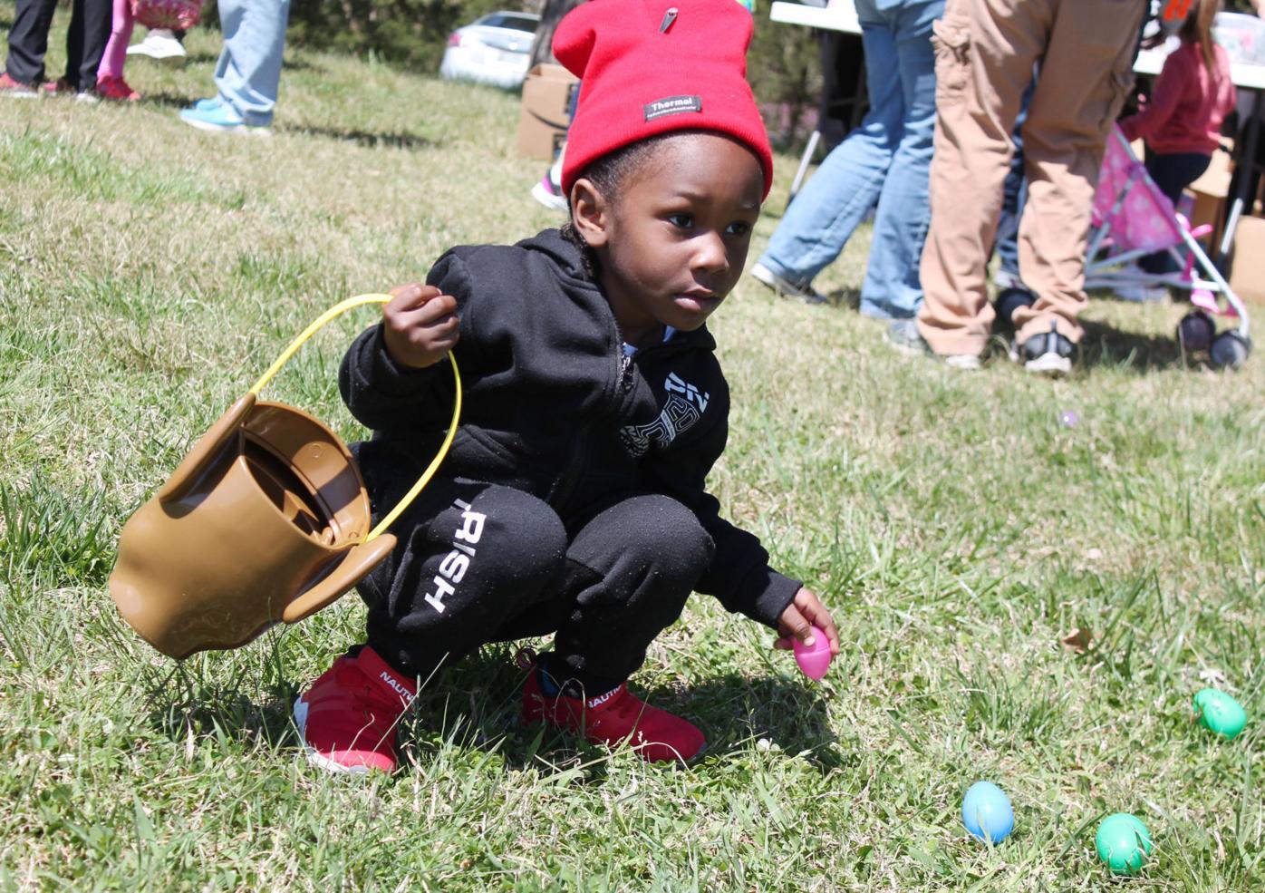 Easter egg hunts a family delight