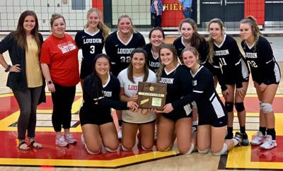 LHS volleyball clinches district championship