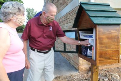 Church puts in Little Free Library
