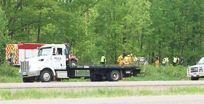 Fatal accident scene