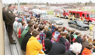 High School demonstration