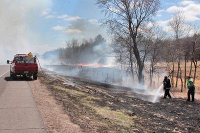Highway 53 firefighters