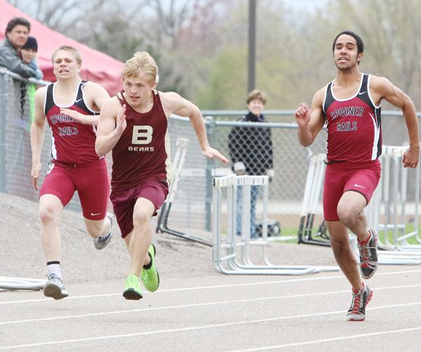 Senior sprinter