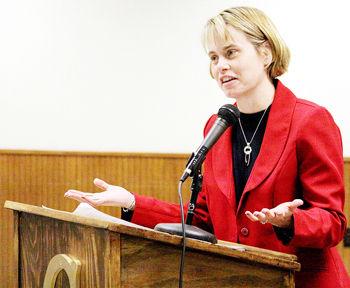 Barron County District Attorney Angela Beranek