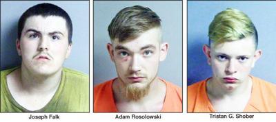Three accused