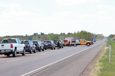 Hwy. 53 motorcycle crash