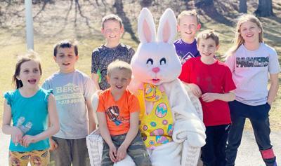 Civic Club members hold egg hunt