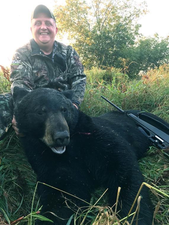 First bear a trophy!