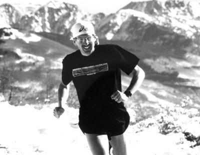 Alpine marathoner
