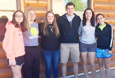Six students are Chamber Young Ambassadors