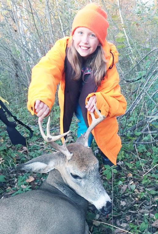 First hunt, first buck