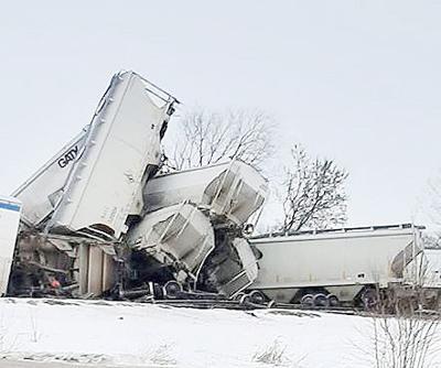 Dunn County derailment