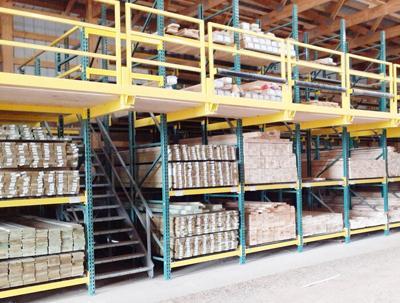 Lumber yard inventory