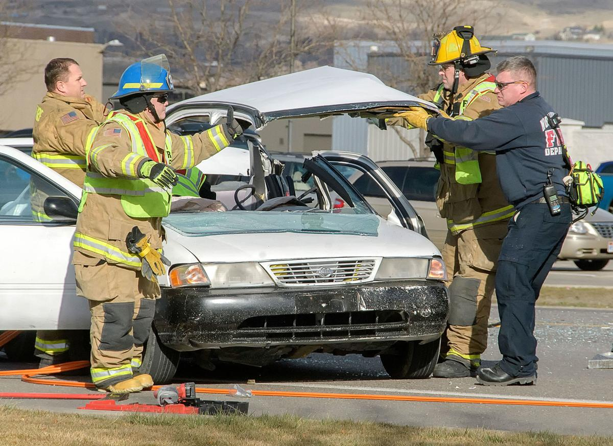 Teen extricated from car after North Logan crash | Accidents ...