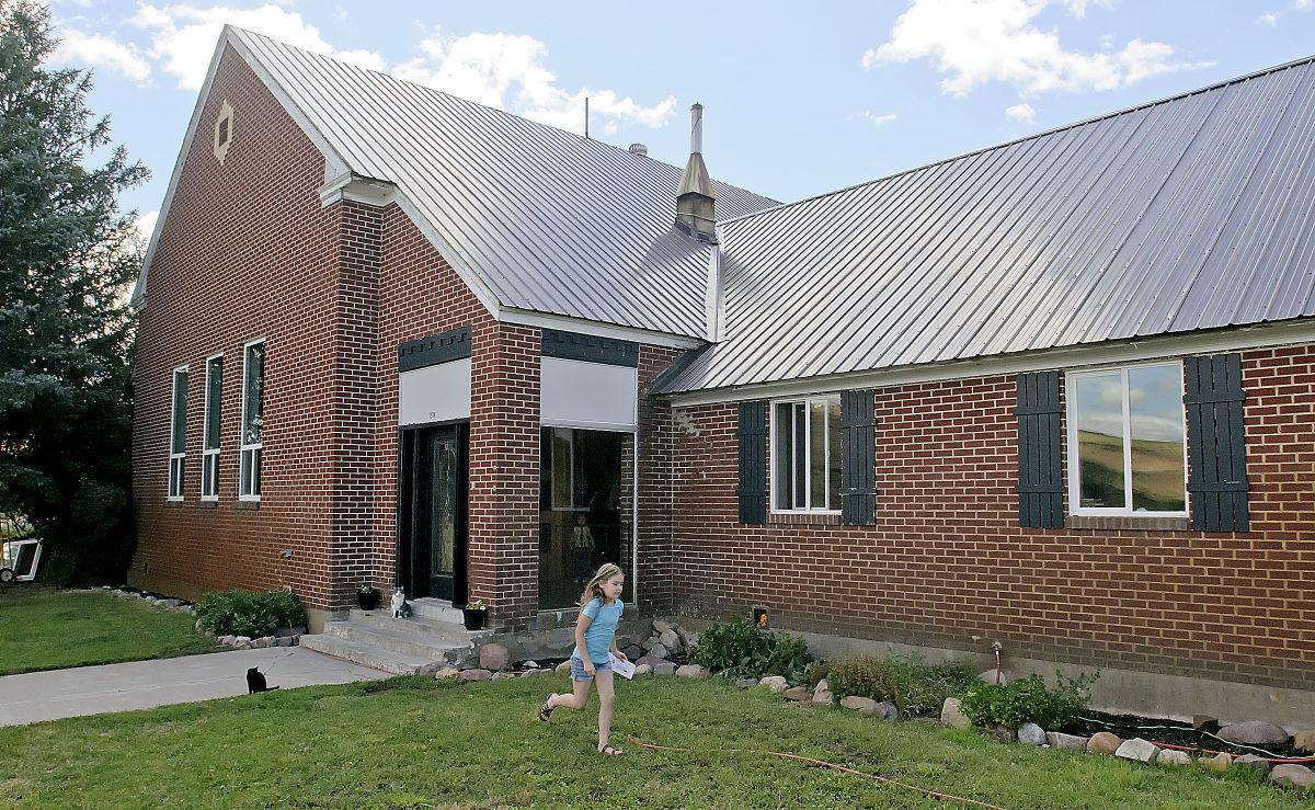 A Little Old Country Church LDS Meetinghouse Turned Family Home