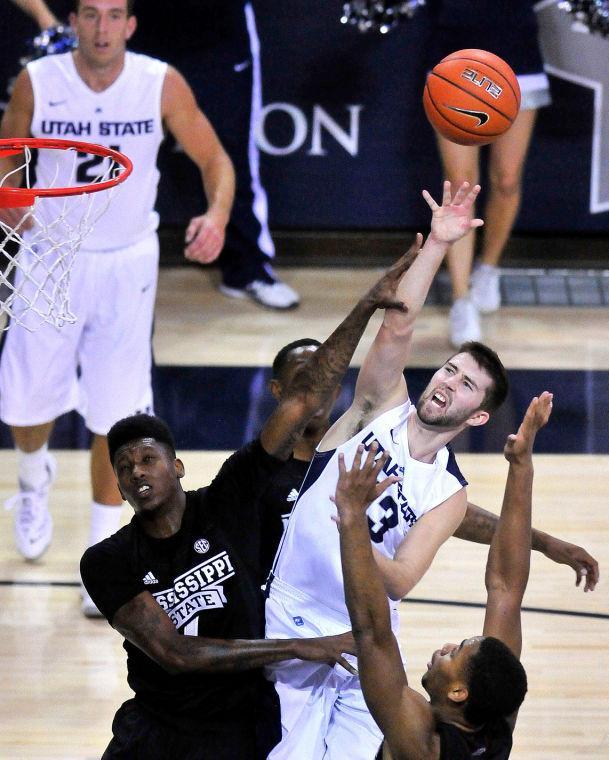 Photo Gallery: USU-MSU Basketball