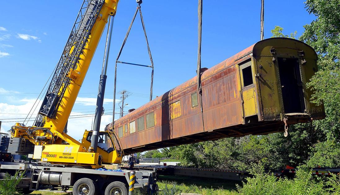 Design firm brings wwii hospital train car to logan the for West motor logan utah