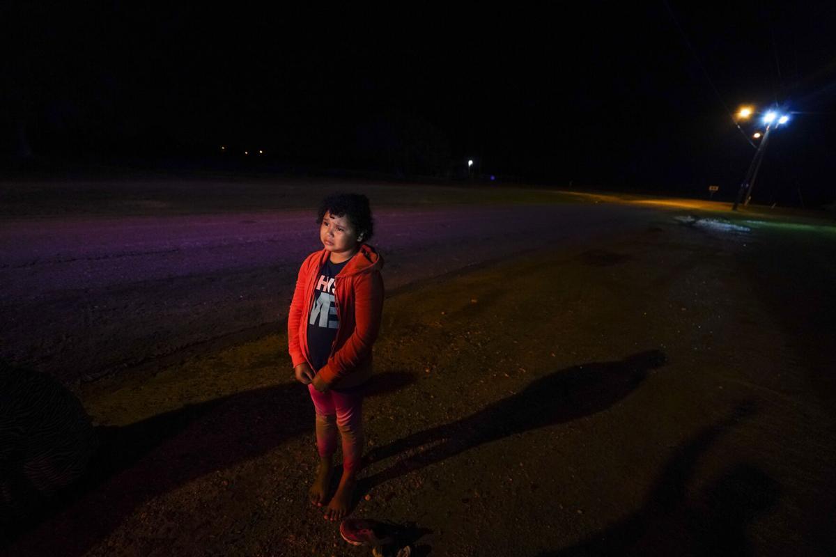 Migrants Girl Alone